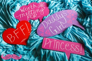 Frozen Daddy Daughter Signs
